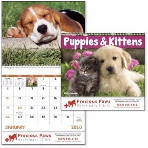Good Value® Puppies & Kittens Calendar (Spiral)