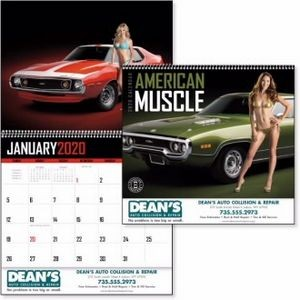 Triumph® American Muscle Appointment Calendar