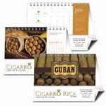Custom Triumph Cuban Cigars Desk Calendar