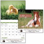 Custom GoodValue Baby Farm Animals Calendar (Stapled)
