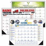 Custom Triumph Multi-Color Desk Pad Calendar