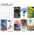 Custom Triumph Colorful Impressions Monthly Pocket Planner