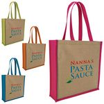 Custom GoodValue Jute Portrait Tote Bag