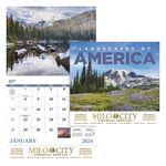 Custom GoodValue Landscapes of America Calendar (Stapled)