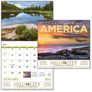 GoodValue Landscapes of America Calendar (Stapled)