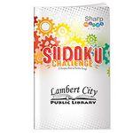Custom Sharper Minds Sudoku Challenge Puzzle Book