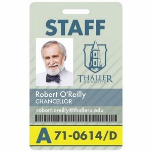 Good Value® Vertical Name Badge