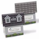 Custom NUVO by Triumph House Shape Desk Calendar