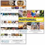 Custom GoodValue National Day Calendar (Spiral)