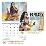 Custom GoodValue Fantasy Builders Calendar (Spiral)