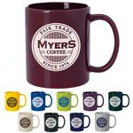 Custom 11 Oz. GoodValue Colored Budget Mug