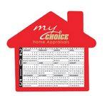 Custom BIC House Calendar & Schedule Magnet (30 Mil)