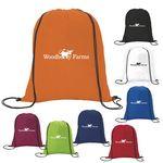 Custom GoodValue Non-Woven Drawstring Backpack