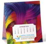 Custom NUVO by Triumph Lenticular Desk Calendar - Ribbon
