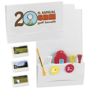 "BIC Graphic® 4-2-1 Golf Tee Packet w/ 3 1/4"" Tees"