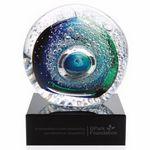 Custom Jaffa Art Glass Galaxy Optical Glass Award