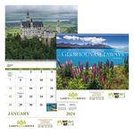 Custom GoodValue Glorious Getaways Calendar (Spiral)