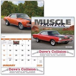Good Value® Muscle Thunder Calendar (Spiral)