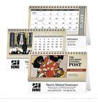 Custom Triumph The Saturday Evening Post Illustrations Desk Calendar