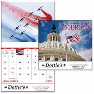 Good Value® Celebrate America Calendar (Stapled)
