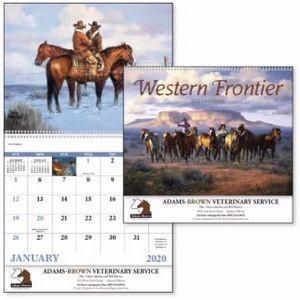 Good Value® Western Frontier Calendar (Spiral)