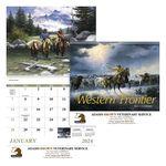 Custom GoodValue Western Frontier Calendar (Spiral)