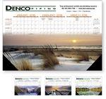 Custom NUVO by Triumph Textured Desk Pad Calendar