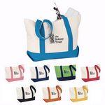 Custom Medium Snap Tote Bag