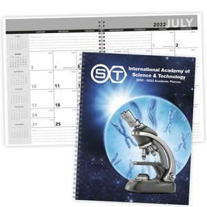Triumph® Desk Planner w/Custom Cover - Academic Year