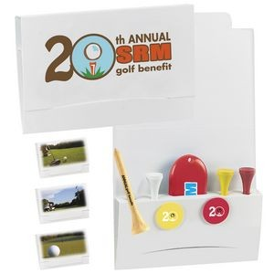 "BIC Graphic® 4-2-1 Golf Tee Packet w/2 1/8"" Tees"