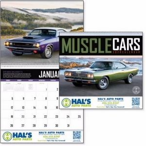 Triumph® Muscle Cars Appointment Calendar