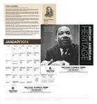 Custom Triumph African American Heritage Dr. Martin Luther King Jr. Calendar