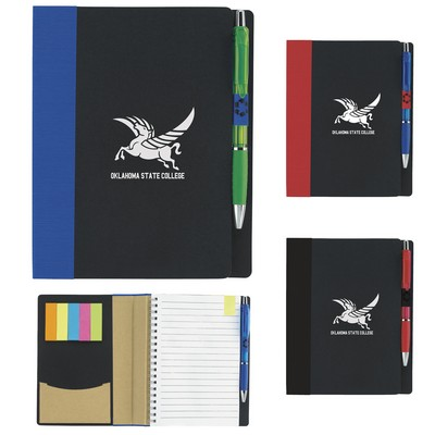 "5""x7"" Good Value® Eco Notebook w/Flags"