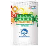 Custom Sharper Minds Brain Teasers Challenge Puzzle Book