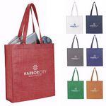 Custom GoodValue Non-Woven Shimmer Tote Bag