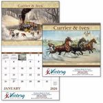 Custom GoodValue Currier & Ives Calendar (Spiral)