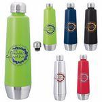Custom 20 Oz. GoodValue Swan Vacuum Stainless Steel Bottle