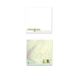 "4""x3"" BIC® Ecolutions® Adhesive 25 Sheet Notepad"