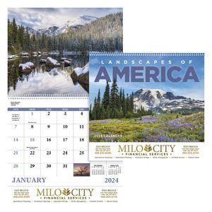 GoodValue Landscapes of America Calendar (Spiral)