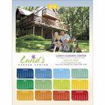 Custom Triumph Colorful Design Span-A-Year Calendar