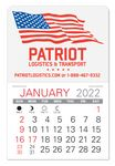 Custom Patriotic Value Stick Calendar