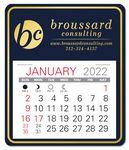 Custom Universal Easy Stick Calendar