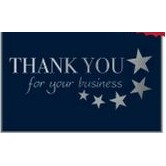 "Thank You For Your Business Everyday Blank Note Card (3 1/2""x5"")"