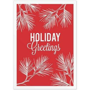 "Pine Greetings Holiday Greeting Card (5""x7"")"