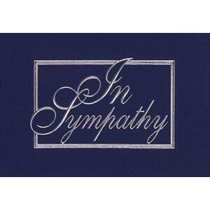 "In Sympathy Everyday Blank Note Card (3 1/2""x5"")"