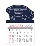 Custom Pig Standard Pad Value Stick Calendar
