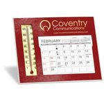 Custom Emissary Desk Calendar w/ Thermometer