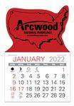 Custom USA Standard Pad Value Stick Calendar