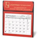 Custom Ambassador Nu-Leth-R Desk Calendar