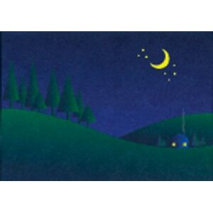 "Night Sky Everyday Blank Note Card (3 1/2""x5"")"